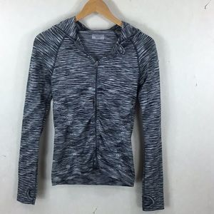 Athleta Hooded Zip Up Jacket